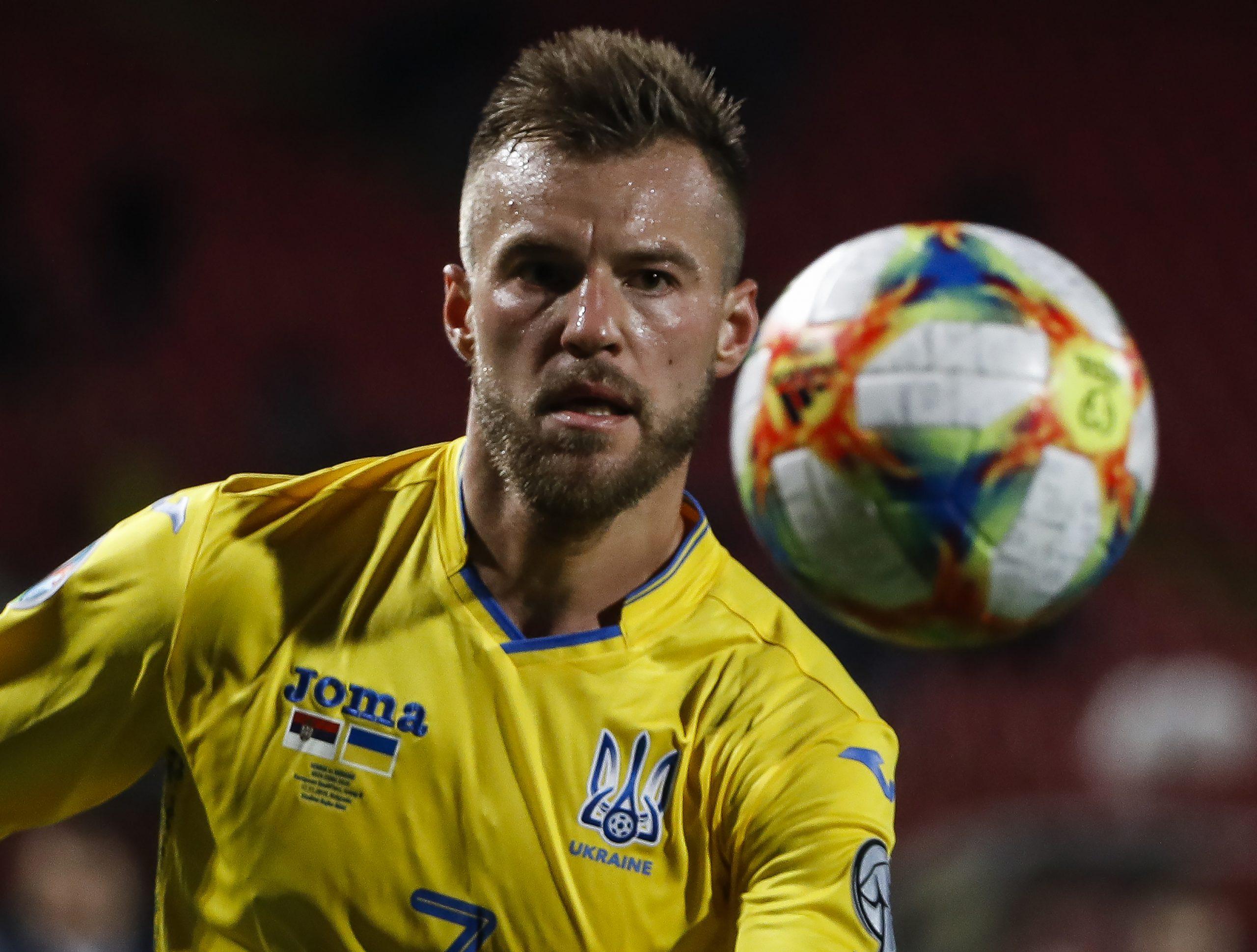Andriy Yarmolenko - Ukraine vs Germany