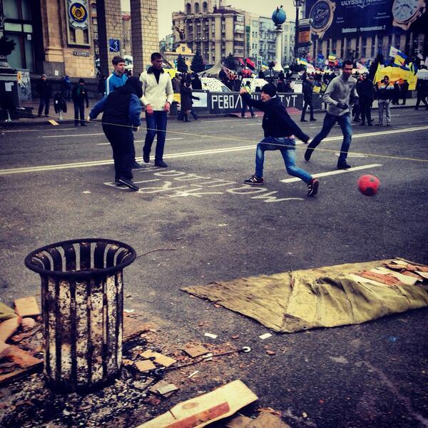 Crimea Crisis – Ukraine's Football Solidarity