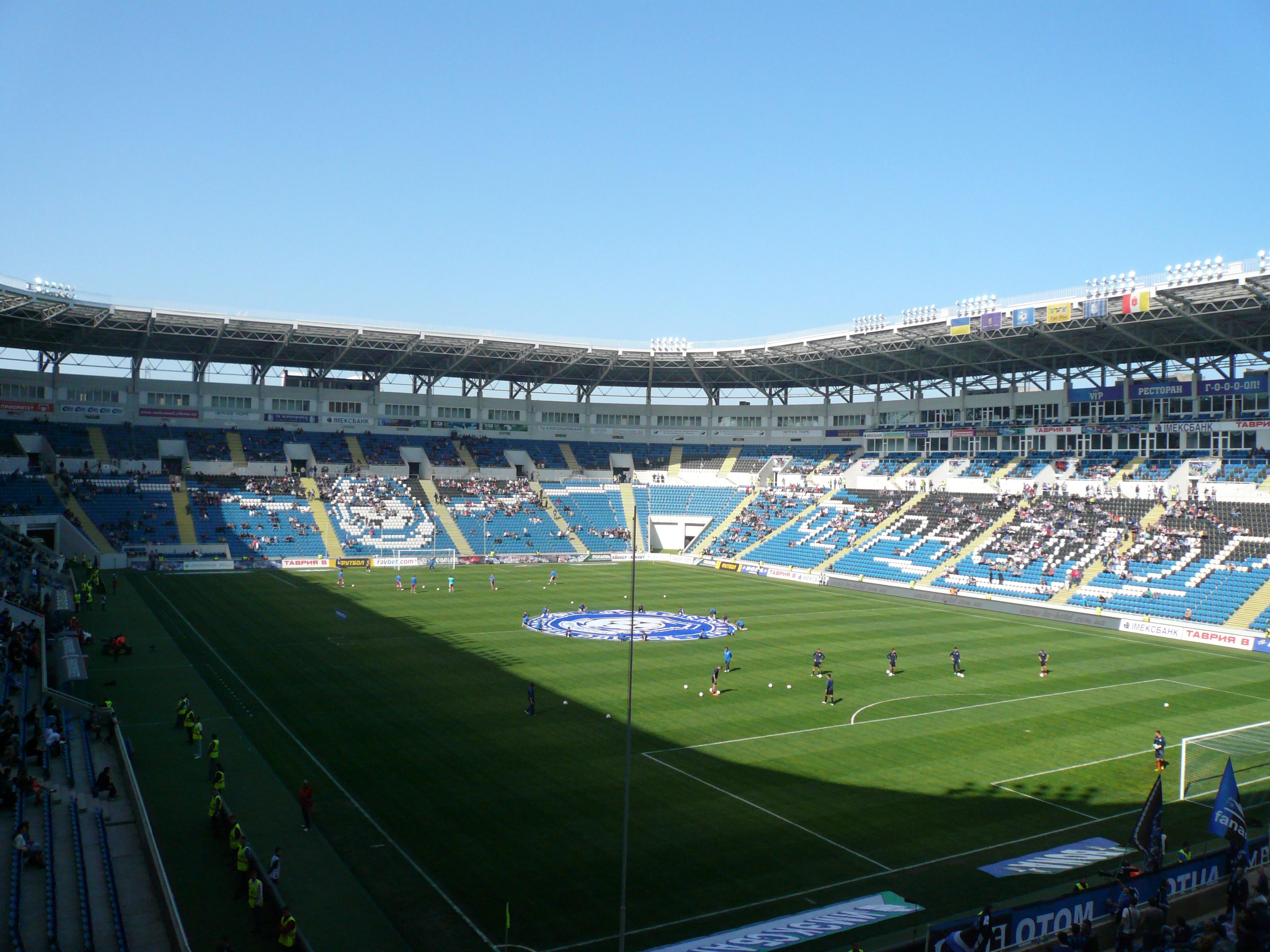 Chernomorets Odessa – Ukrainian club football in Exile