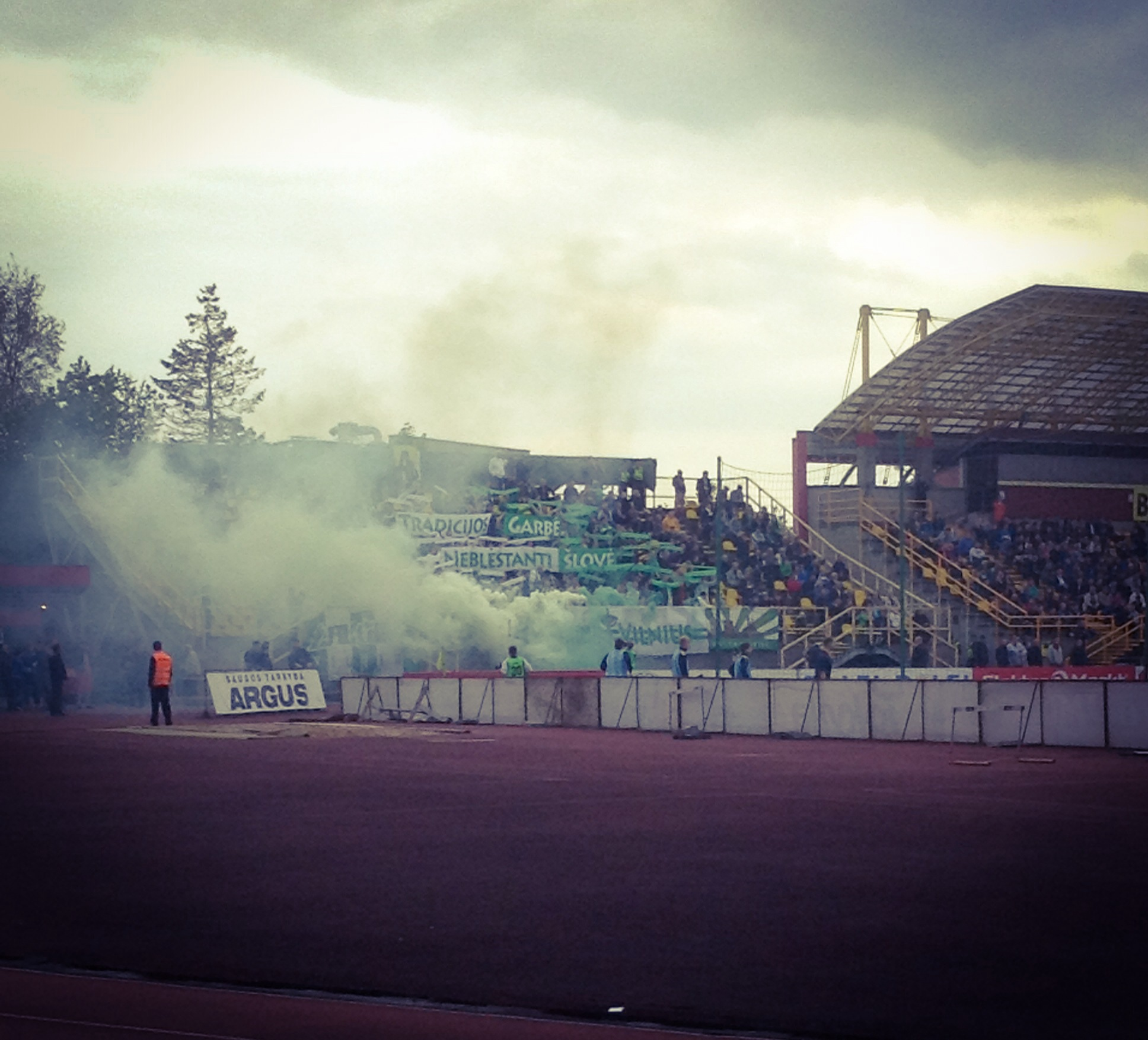 Žalgiris Triumphant – Pictures from the 2014/15 Lithuanian Cup Final