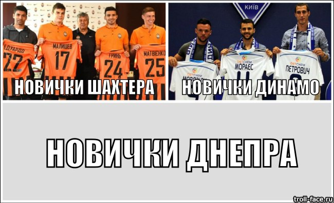 Dnipro Dnipropetrovsk – Where Are The New Signings?