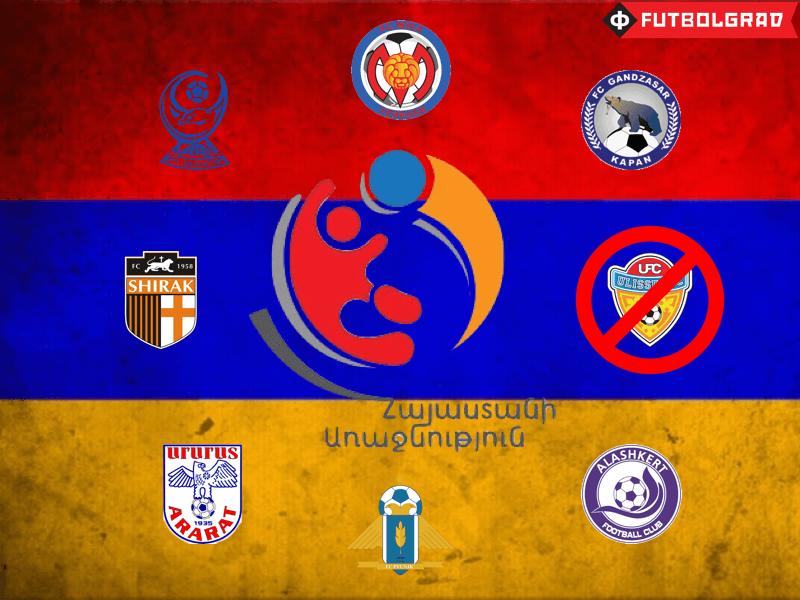 Armenian Premier League – The Smallest League in Europe