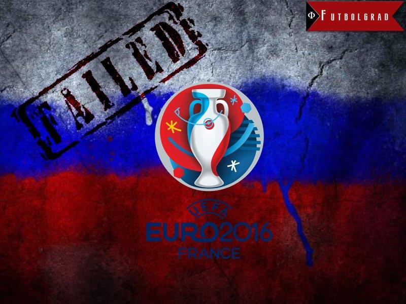 Russia's Euro 2016 Failure