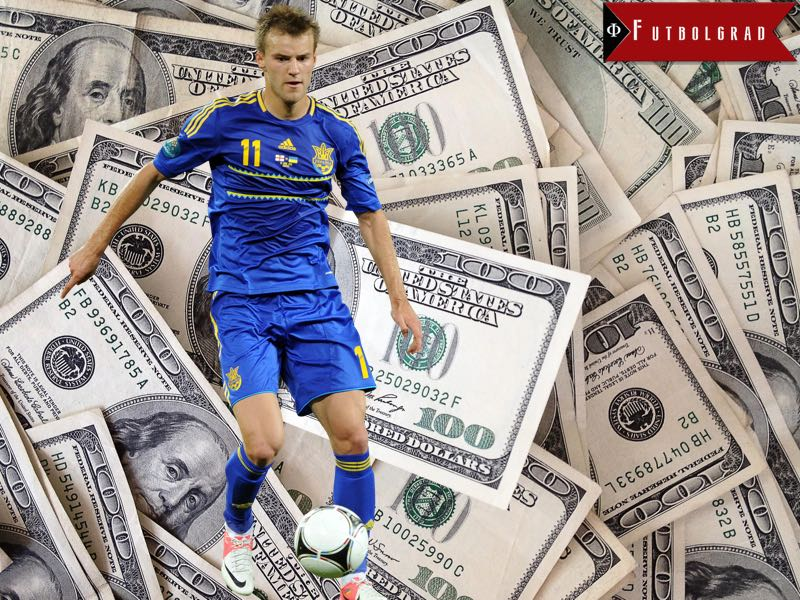 Andriy Yarmolenko contract details leaked
