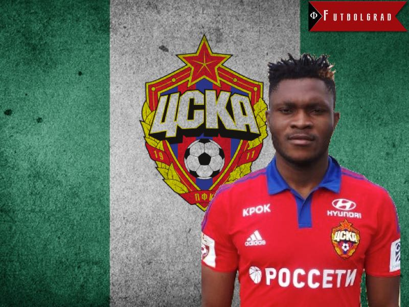 Aaron Olanare – The Super Eagle Returns to CSKA