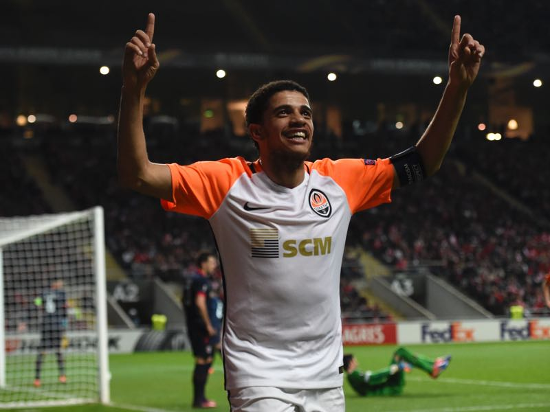 Taison is going to be Shakhtar's key player. (FRANCISCO LEONG/AFP/Getty Images)