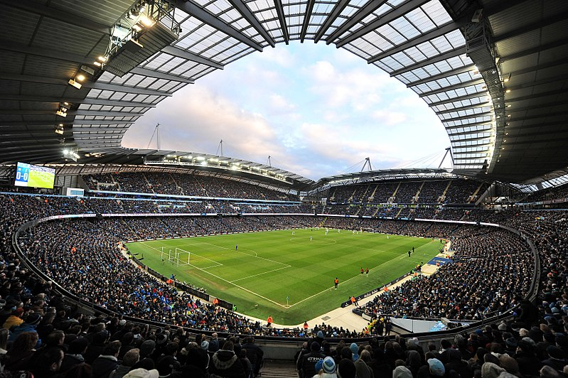Manchester City v Shakhtar Donetsk will take place at the City of Manchester Stadium (Cleria Santos CC-BY-2.0)