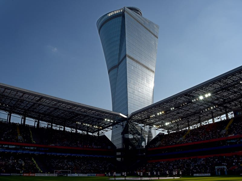 CSKA Moscow vs Ferencváros will take place at the VEB Arena in Moscow. (Photo by Epsilon/Getty Images)