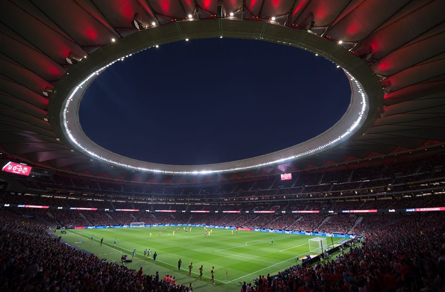 Atlético Madrid vs Lokomotiv Moscow will take place at the Wanda Metropolitano. (Photo by Denis Doyle/Getty Images)