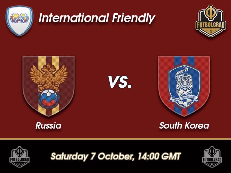 Russia vs South Korea – International Friendly Preview