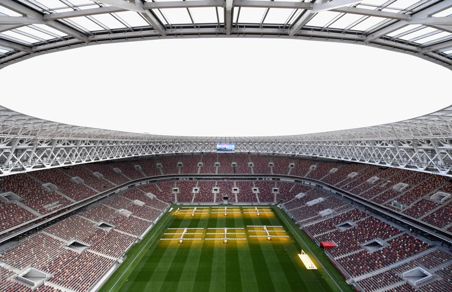 Russia vs Scotland will take place at the newly refurbished Luzhniki Stadium in Moscow. (Photo by Michael Regan/Getty Images)