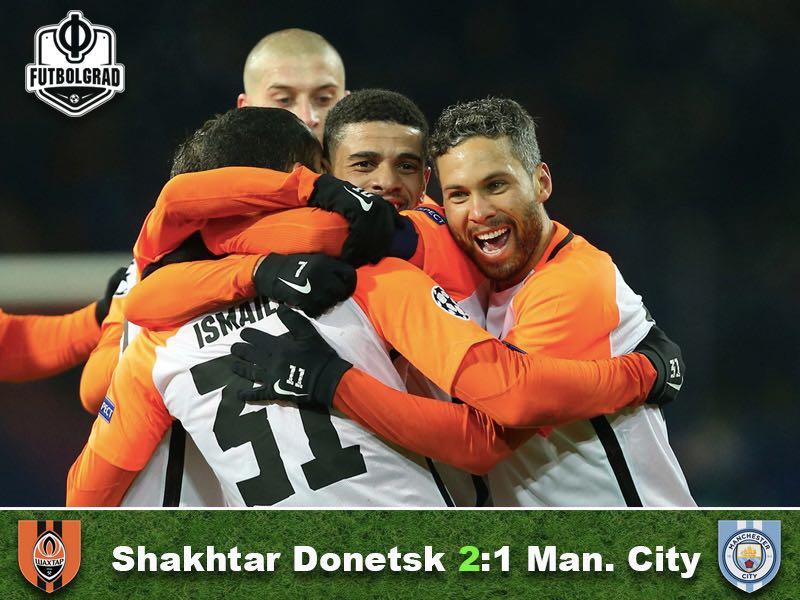 Shakhtar Donetsk v Manchester City – Match Report