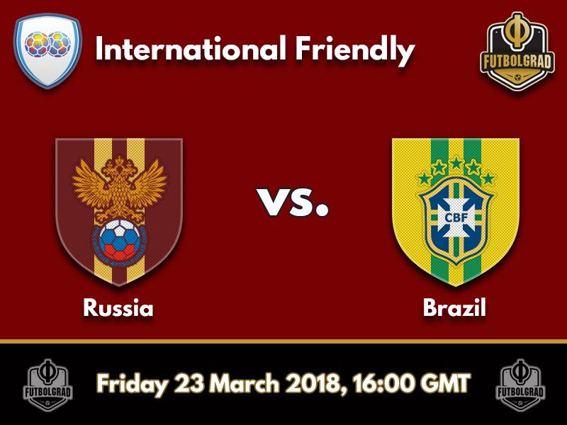 Russia vs Brazil – International Friendly – Preview