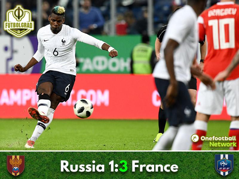 Russia v France – International Friendly – Match Report