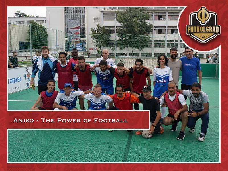 Aniko – Empowering refugees in Greece through football