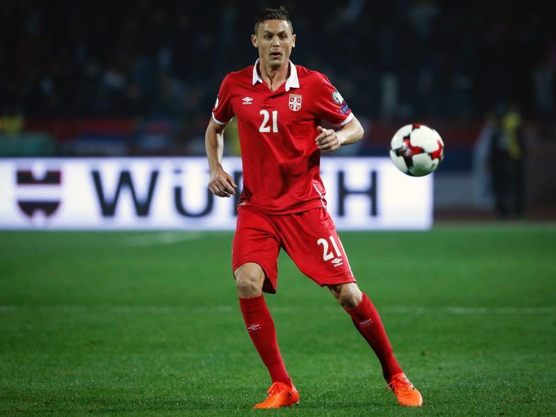 Nemanja Matić will be a key player in the Serbia squad. (Photo by Srdjan Stevanovic/Getty Images)