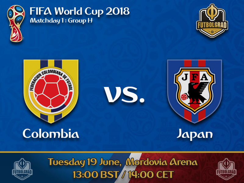 Los Cafeteros battle the Blue Samurai for supremacy in Group H
