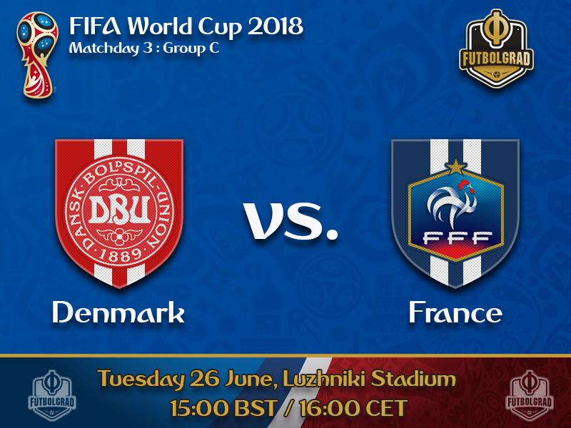 Denmark need a point against France to advance