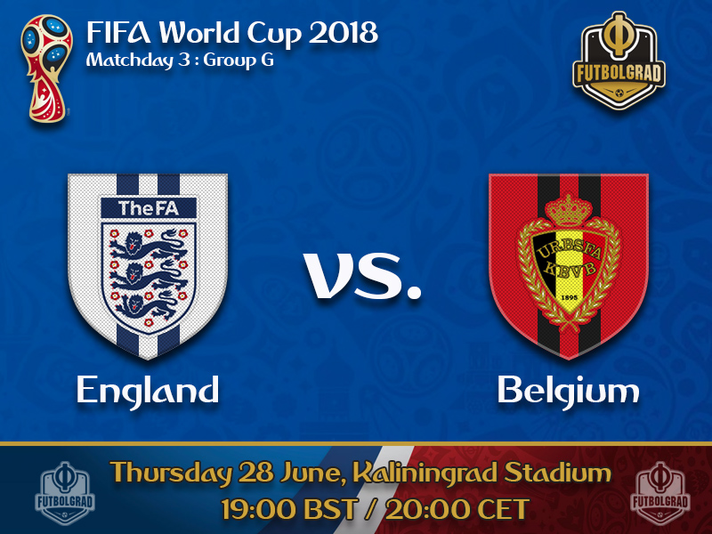 The Three Lions or the Red Devils, who comes out on top of Group G?