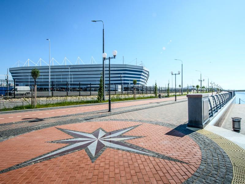 Russia vs Kaliningrad will take place at the Kaliningrad Stadium in Kaliningrad (Photo by Mladen ANTONOV / AFP)