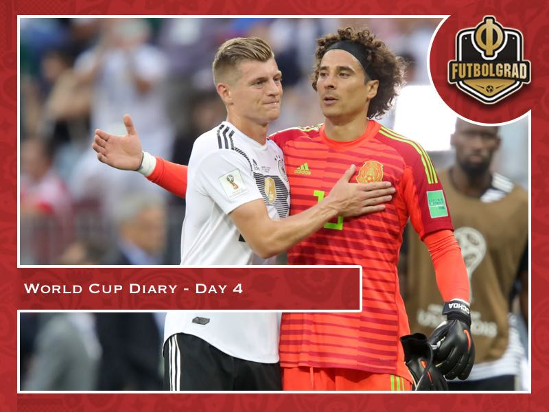 World Cup Diary – Day 4: Germany disappoint