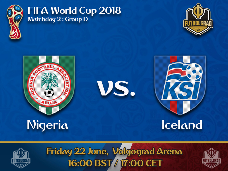 Nigeria want to bounce back against Iceland