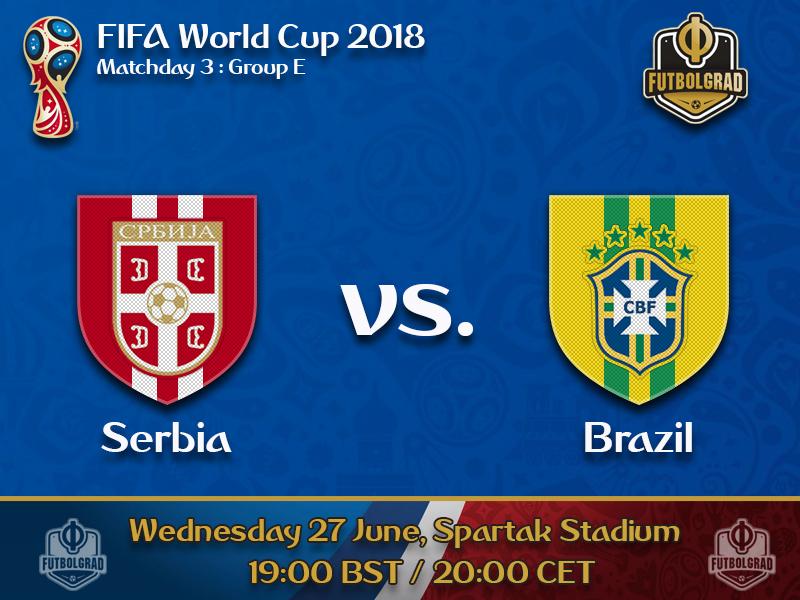 Serbia face must win scenario against Brazil