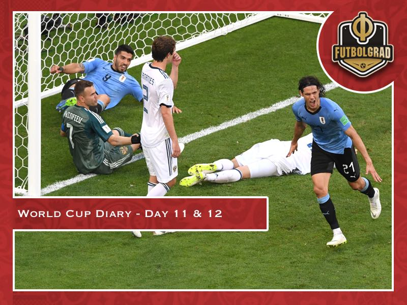 World Cup Diary Day 11-12: Sochi and Uruguay v Russia