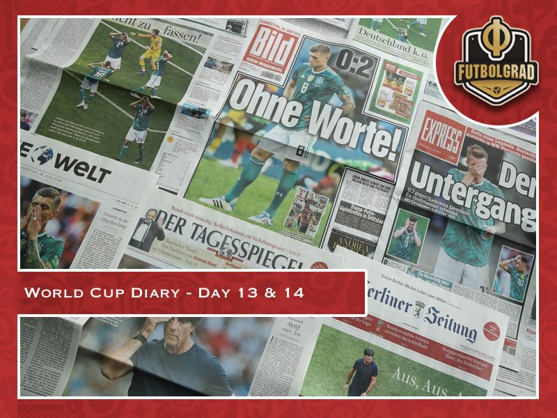 World Cup Diary – Day 13 & 14: South Korea vs Germany – Fallout