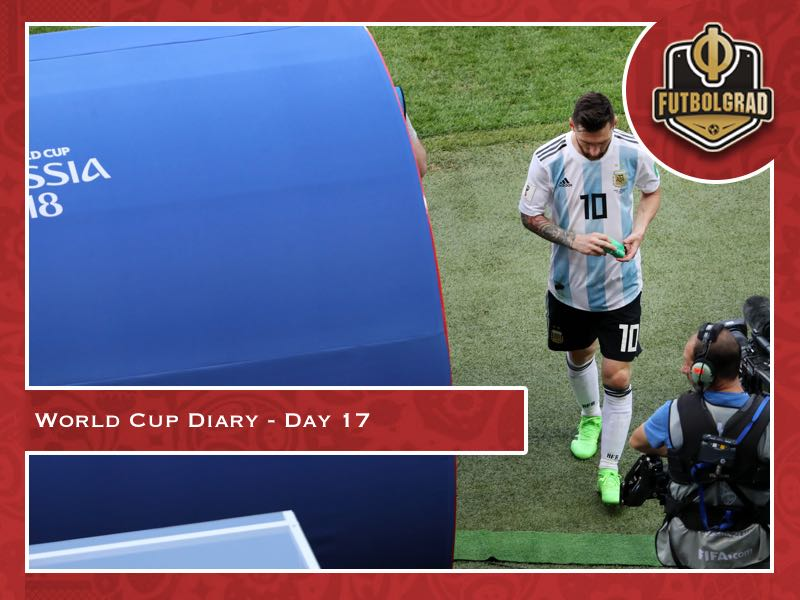 World Cup Diary – Day 17 – Messi and Ronaldo say goodbye