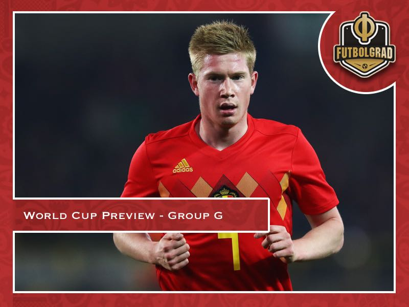 2018 FIFA World Cup – Group G Preview