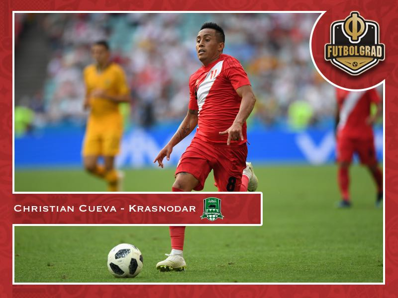 Christian Cueva – Krasnodar's Peruvian World Cup star introduced