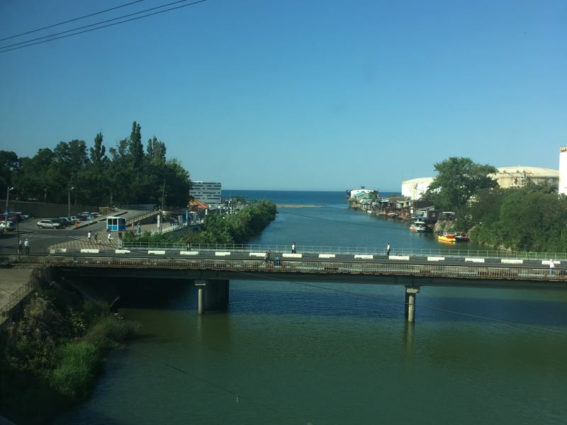 Moscow to Sochi mouth the beginning of the black sea