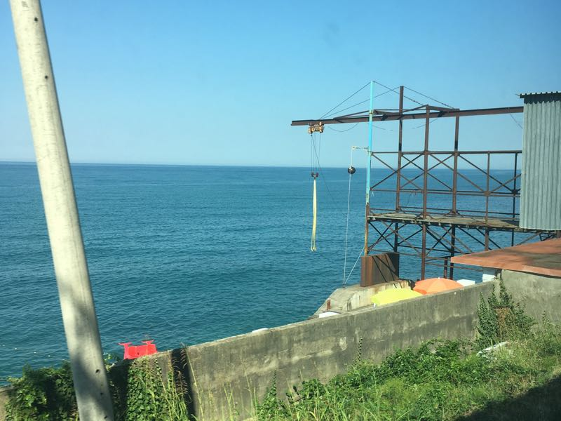 Moscow to Sochi the Black Sea fisheries