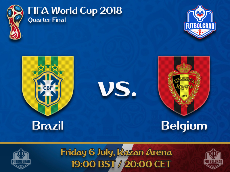 Brazil face first major test of the tournament when they play Belgium on Friday