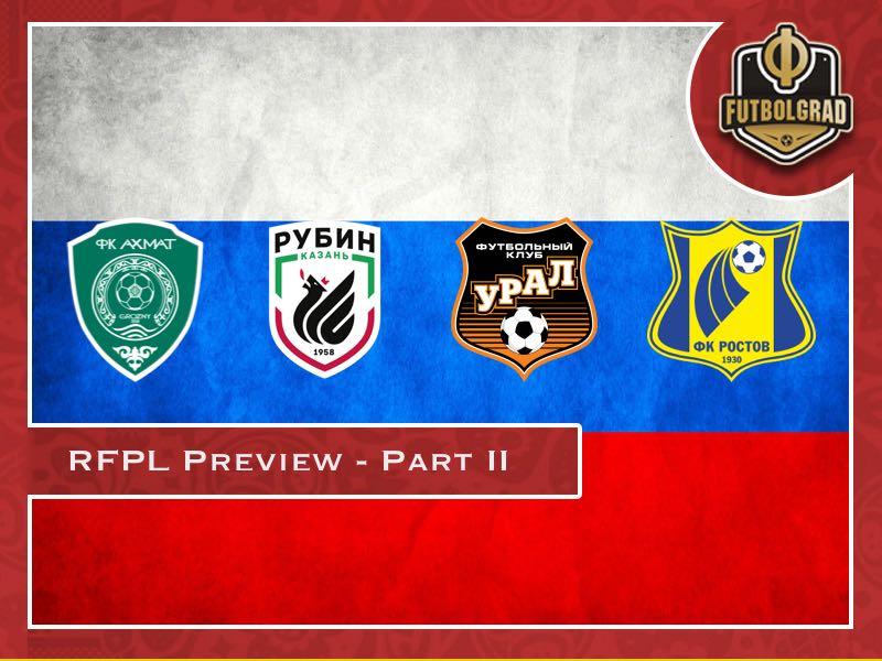 Russian Football Premier League 2018/19 Season Preview – Part II