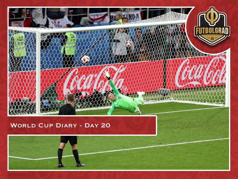 World Cup Diary – Day 20: England win on penalties (this is not a joke)!