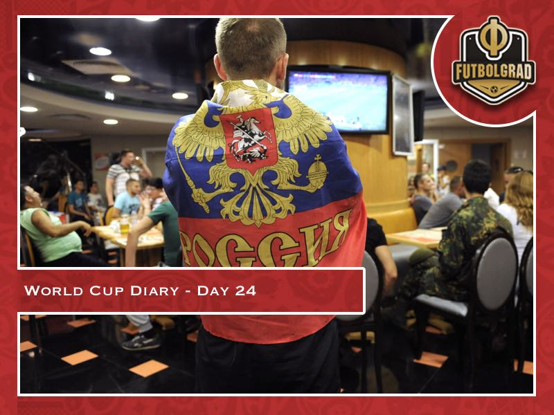 World Cup Diary – Day 24: The Sbornaya are out