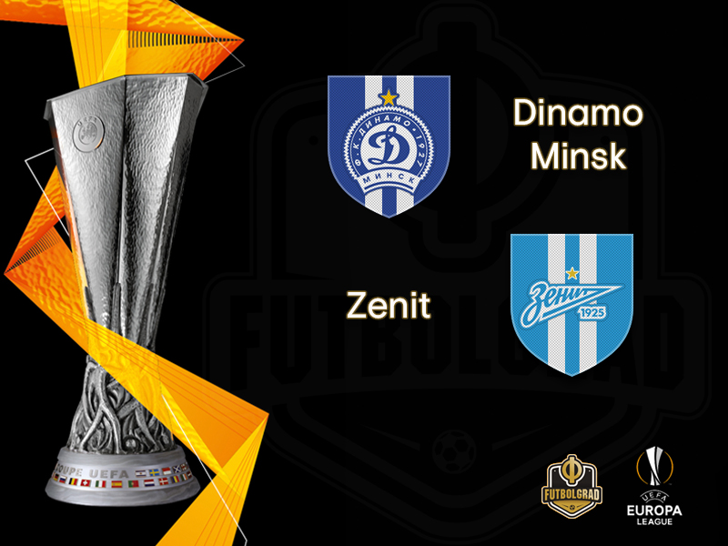 Dinamo Minsk and Zenit face each other in a proper post-Soviet derby