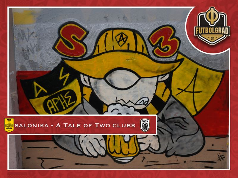 Thessaloniki – Aris and PAOK and the tale of football artwork