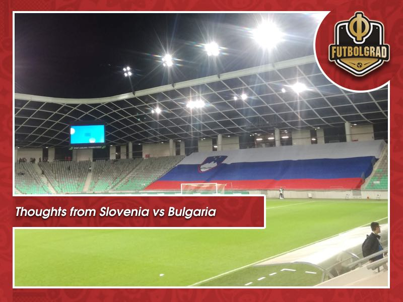 Notes from Slovenia vs Bulgaria and thoughts on the UEFA Nations League