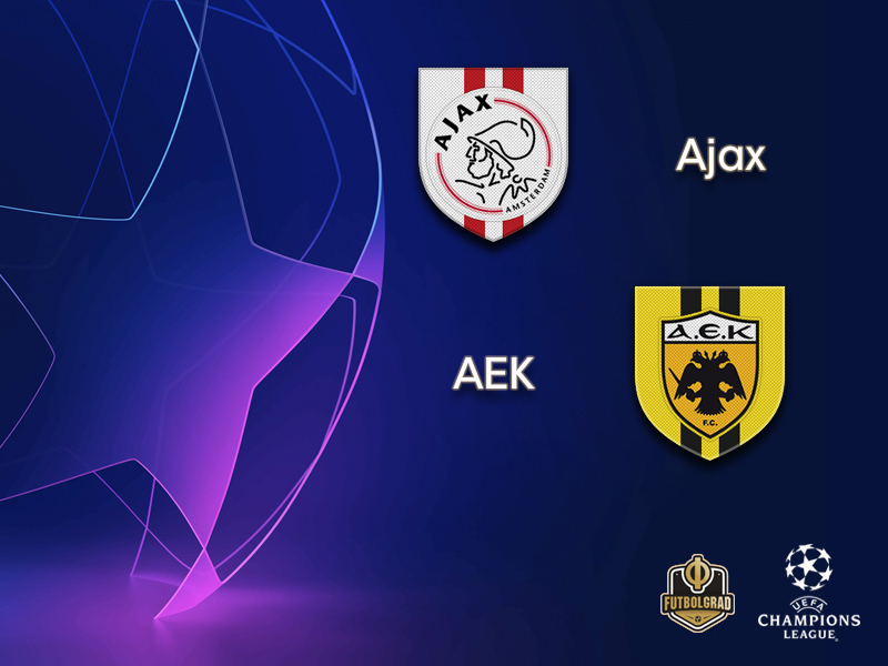 Ajax look to rekindle former glory when they host AEK on Wednesday