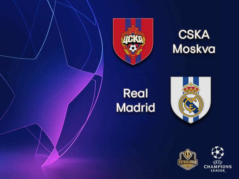 CSKA Moscow host Spanish giants Real Madrid at the Luzhniki