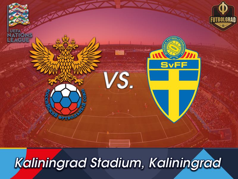 Sweden are under pressure as they travel to Kaliningrad to face Russia