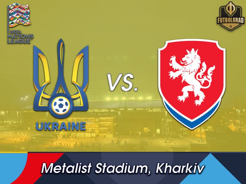 Ukraine could secure promotion to League A with a victory over the Czechs