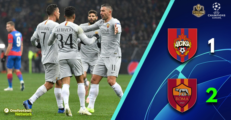 CSKA have a mountain to climb after they are defeated by Roma