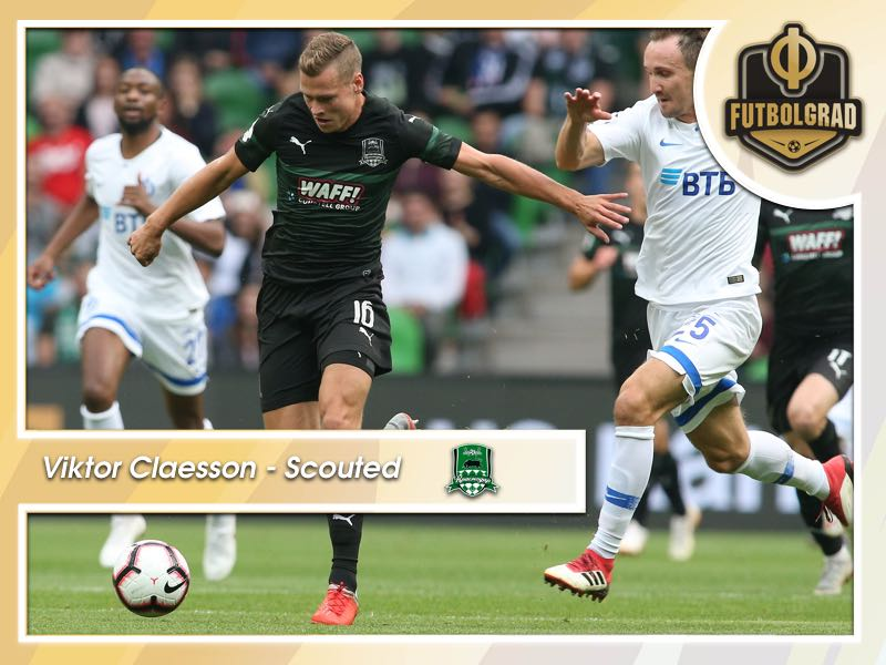 Viktor Claesson – Krasnodar's Super Bargain Scouted