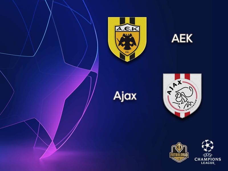 AEK take on Dutch giants Ajax in Athens