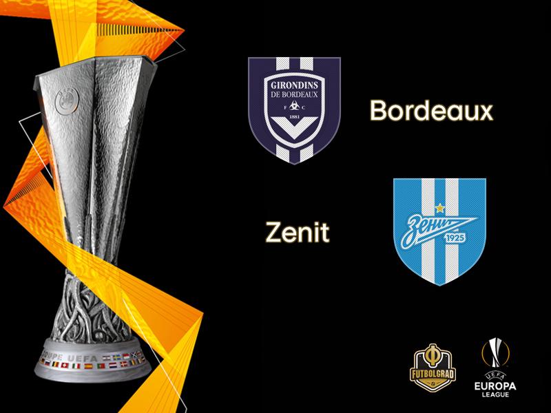 Europa League – Bordeaux look down the barrel of elimination when they face Zenit