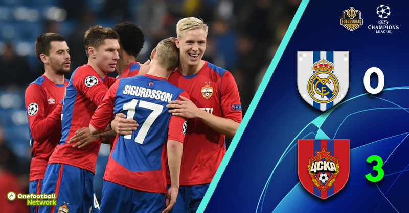 CSKA dismantle Real Madrid but are out of Europe nonetheless